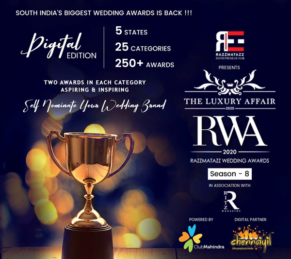 Luxury Affair Razzmatazz Wedding Awards 2020